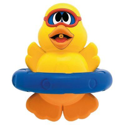 צעצוע ברווז לאמבטיה – Spin n Squirt Duckling