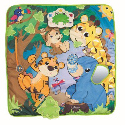משטח פעילות מוזיקלי – Jungle Ball Musical Jungle Playmat