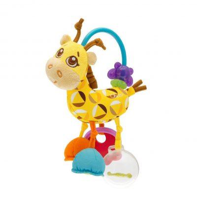 רעשן משחק ג'ירף – Chicco First Activity Rattle Giraffe