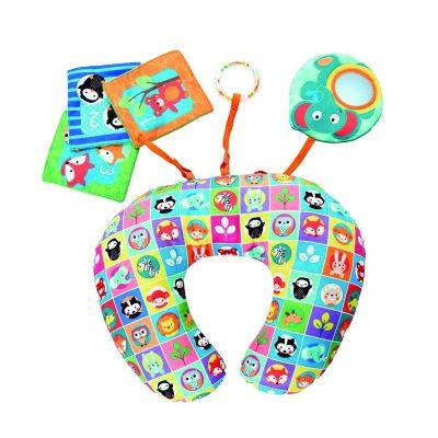 כרית התפתחות עם צעצועים – Toy Move N Grow Animal Tummy