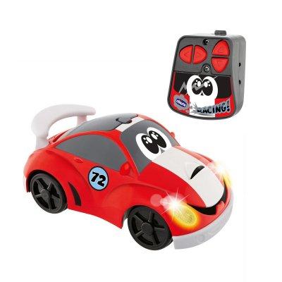 מכונית חיפושית עם שלט אדום לבן – Toys johnny coupe racing