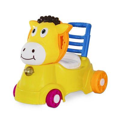 סיר גמילה בימבה על גלגלים – Baby Scooter with Toilet