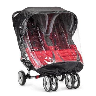 כיסוי גשם לעגלת תאומים סיטי מיני – City Mini Double Stroller Weather Shield