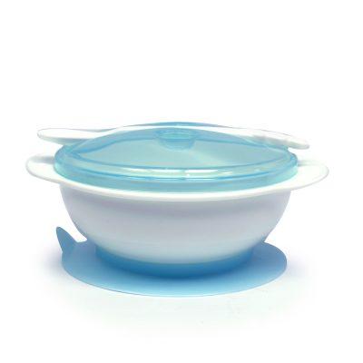 סט קערה עם תחתיות נדבקות וכפית – Flawless – Suction Training Bowl Set – Blister
