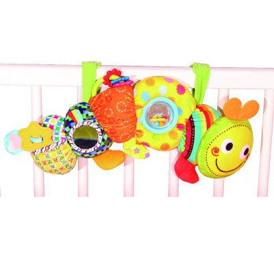 צעצוע לעגלה – Bizzy Bussy Stroller Fun Caterpillar