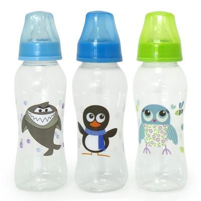 """בקבוק האכלה 250 מ""""ל אריזת שלישייה – Flawless™ Feeding Bottle 250ml 3 Pack"""