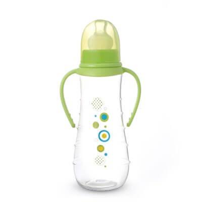 """בקבוק עם פטמת סיליקון 250 מ""""ל – Flawless™ Bottle With Silicone Nipple"""