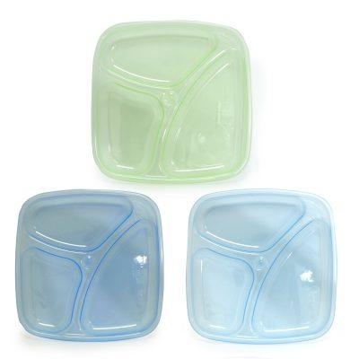 מארז 3 צלחות מחולקות – Flawless™ Divided Plate