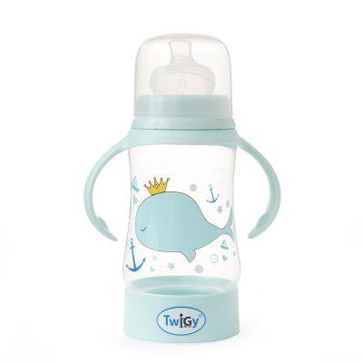 בקבוק רחב עם ידיות אחיזה – Flawless™ Wide Neck Bottle with handle