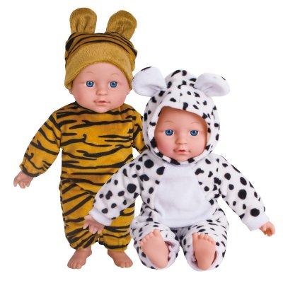 בובה עם תחפושת חיות ובקבוק – Soft Animal Doll With Bottle