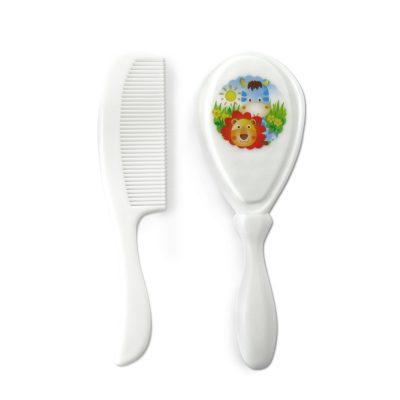 סט מברשת ומסרק ידית פלסטיק – Flawless™ Brush & Comb Set Plastic Handle