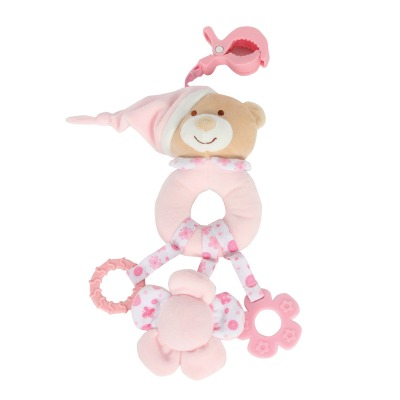 רעשן עם תפסן – Soft Touch™ Rattle with Clip