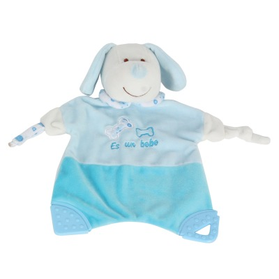 שמיכה עם רעשן ונשכן – Soft Touch™ Blanket With Rattle