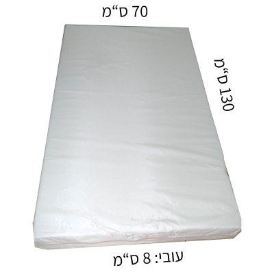 מזרון למיטת מעבר שעוונית 70X130 עובי 8 סמ