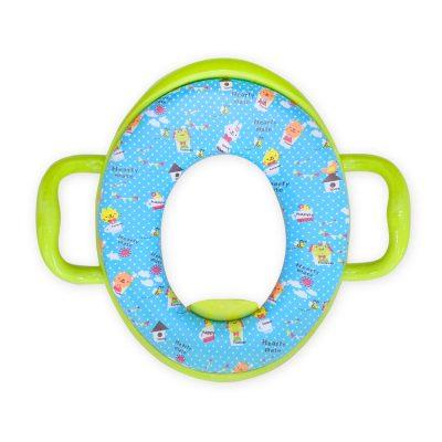 מושב אסלה מרופד – Baby Toilet Cushion