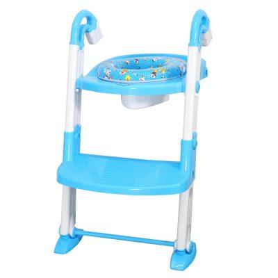 מושב אסלה 3 ב- 1 – Baby Toilet Cushion