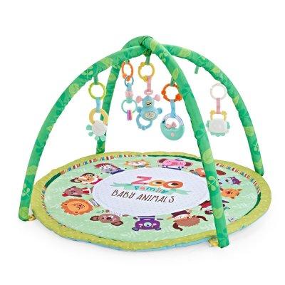 משטח פעילות עם קשת צעצועים – Baby Playing Mat