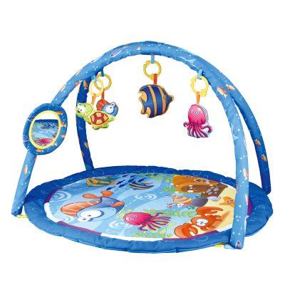 משטח פעילות עם קשת צעצועים – Baby Playing Mat CC9645