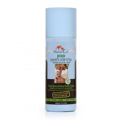 סבון קלנדולה לתינוק מרכיבים צמחיים