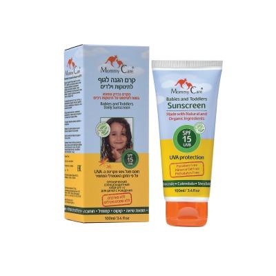 קרם הגנה לגוף לתינוקות וילדים SPF 15
