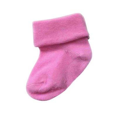 זוג גרביים חלקות דקות במידה 0-3 חודשים