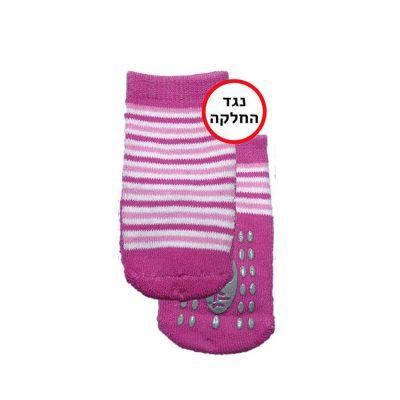 זוג גרביים נגד החלקה במידה 18-24 חודשים
