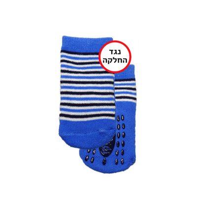 זוג גרביים נגד החלקה במידה 3-9 חודשים