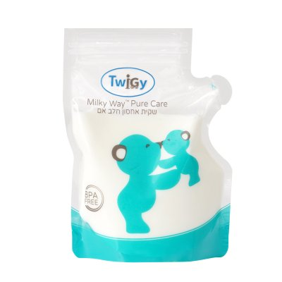 שקיות אחסון חלב אם מילקי וואי – Milky Way Breastmilk Bags