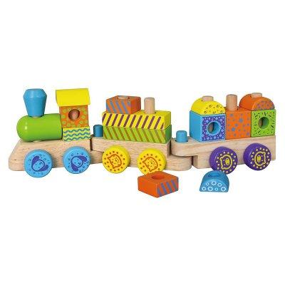 רכבת מגדל טבעות לילדים