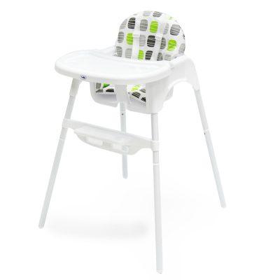 כיסא אוכל עם ריפוד פי וי סי – Back 2 Basics p.v.c