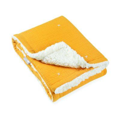 שמיכה דו צדדית טטרא ופליז סאן סט