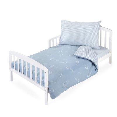 סט מצעים למיטת מעבר – טריקו