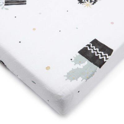 סדין במבוק טטרה למיטת תינוק