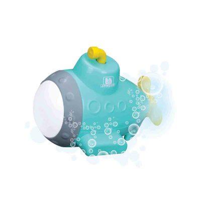 צוללת + מקרן תת ימי לאמבטיה