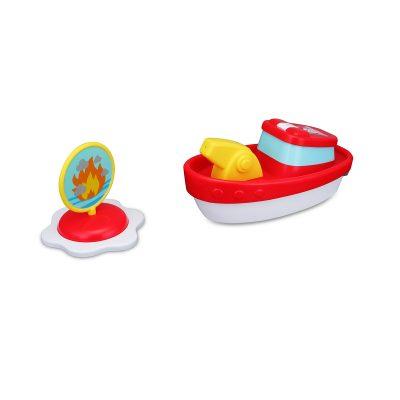סירת כיבוי אש לאמבטיה + זרנוק מים