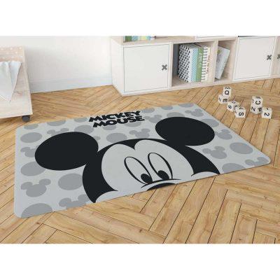 שטיח פלנל מודפס רך ונעים למגע לחדרי ילדים – מיקי מאוס