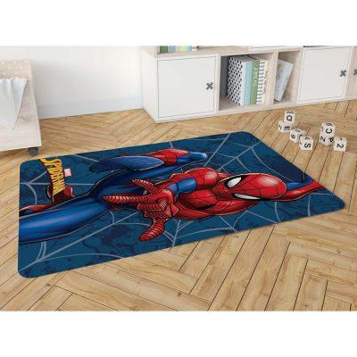 שטיח פלנל מודפס רך ונעים למגע לחדרי ילדים – ספיידרמן