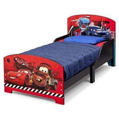 מיטת מעבר עץ – מכוניות דיסני