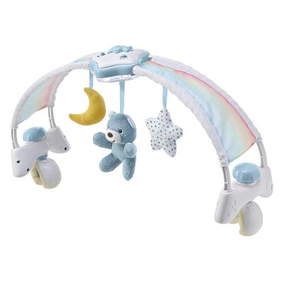 מובייל מוזיקלי/קשת צעצועים קשת בענן – Rainbow Bed Arch