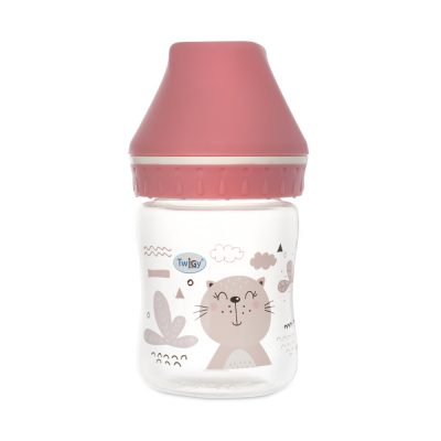 בקבוק רחב זרימה איטית Flawless™ My Essence – Wide Neck Bottle – 125ML
