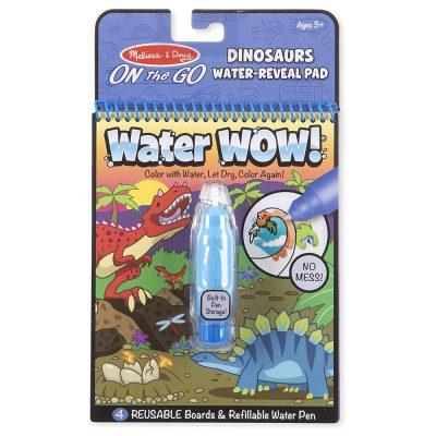 חוברת טוש המים – דינוזאורים
