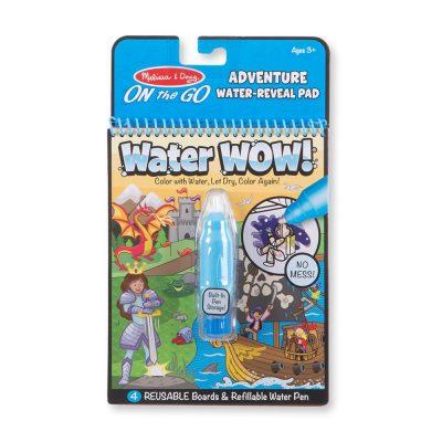 חוברת טוש המים – הרפתקאות