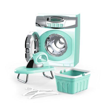 סט מכונת כביסה – Washing Machine Set