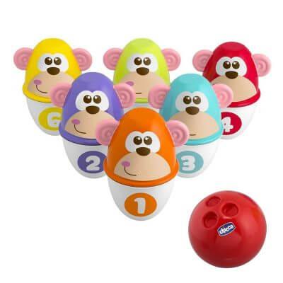 משחק באולינג 2 ב-1 קופים – Monkey Strike