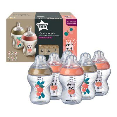 """שיישיית בקבוקים 260 מ""""ל צבעוניים סדרת הכי טבעי"""