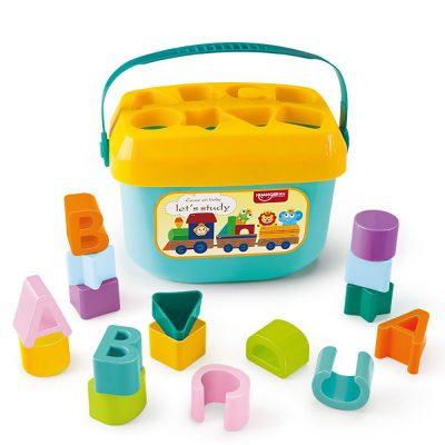 משחק קוביות התאמת צורות – Baby Blocks